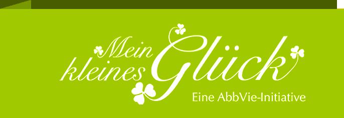 Logo Kleines Glück Eine AbbVie-Initiative