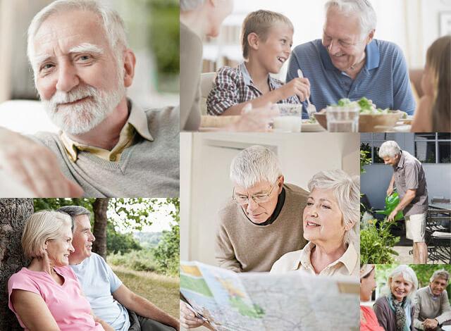 Menschen mit Parkinson in Alltagssituationen