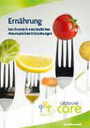 Titel der Broschüre Ernährung bei chronisch-entzündlichen rheumatischen Erkrankungen