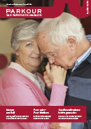Titel der Broschüre PARKOUR Das Parkinson Magazin No2