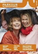 Titel der Broschüre PARKOUR Das Parkinson Magazin No1