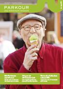 Titel der Broschüre PARKOUR Das Parkinson Magazin No4