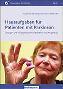 Buchtitel Hausaufgaben für Patienten mit Parkinson: Übungen und Hilfestellungen für Betroffene und Angehörige