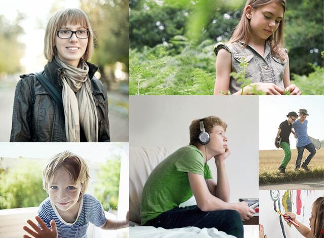 Kinder und Jugendliche mit Rheuma in Alltagssituationen