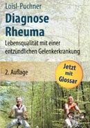 Buchtitel Diagnose Rheuma – Lebensqualität mit einer entzündlichen Gelenkerkrankung