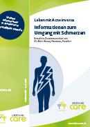 Titel der Broschüre Leben mit Acne inversa - Informationen zum Umgang mit Schmerzen