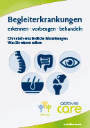Titel der Broschüre Begleiterkrankungen erkennen, vorbeugen, behandeln