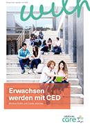 Titel der Broschüre Erwachsen werden mit CED