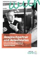 Titel der Broschüre Ansprechpartner und Anlaufstellen bei chronisch-entzündlichen Erkrankungen