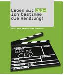Buchtitel Leben mit CED – ich bestimme die Handlung!
