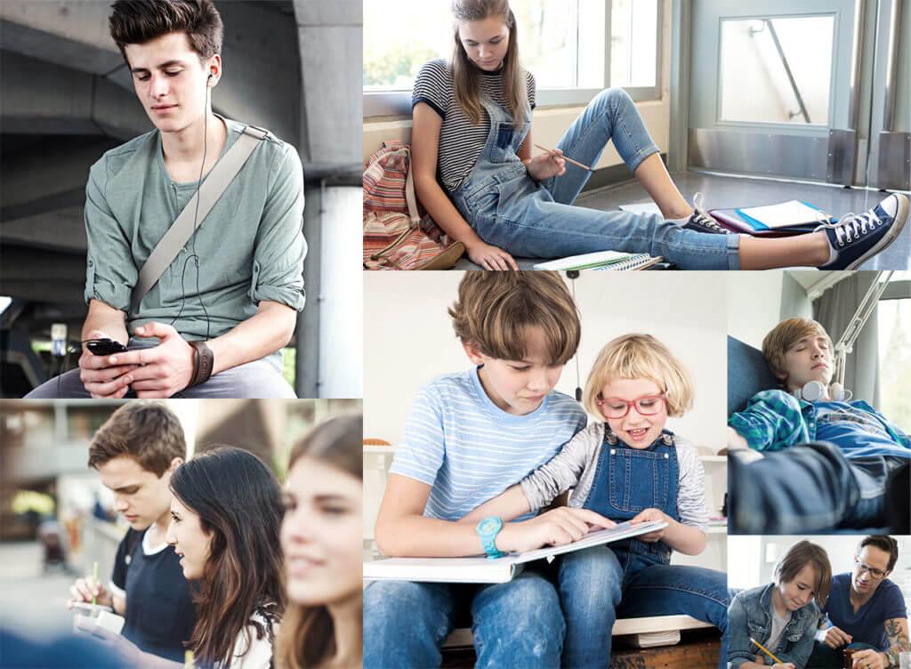 Kinder und Jugendliche mit Morbus Crohn in Alltagssituationen