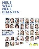 Titel der Broschüre Hepatitis C-Magazin