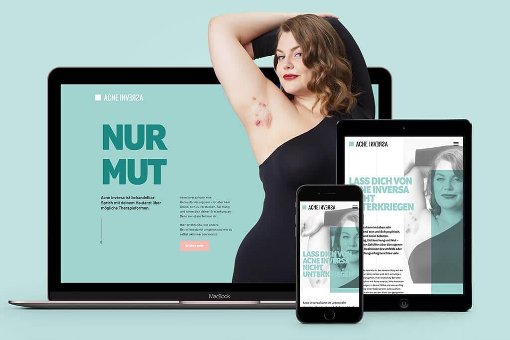 Nur Mut Webseite