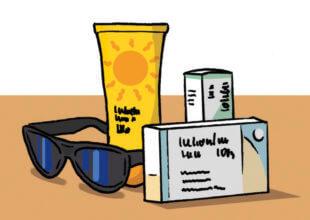 Handgepäck im Urlaub