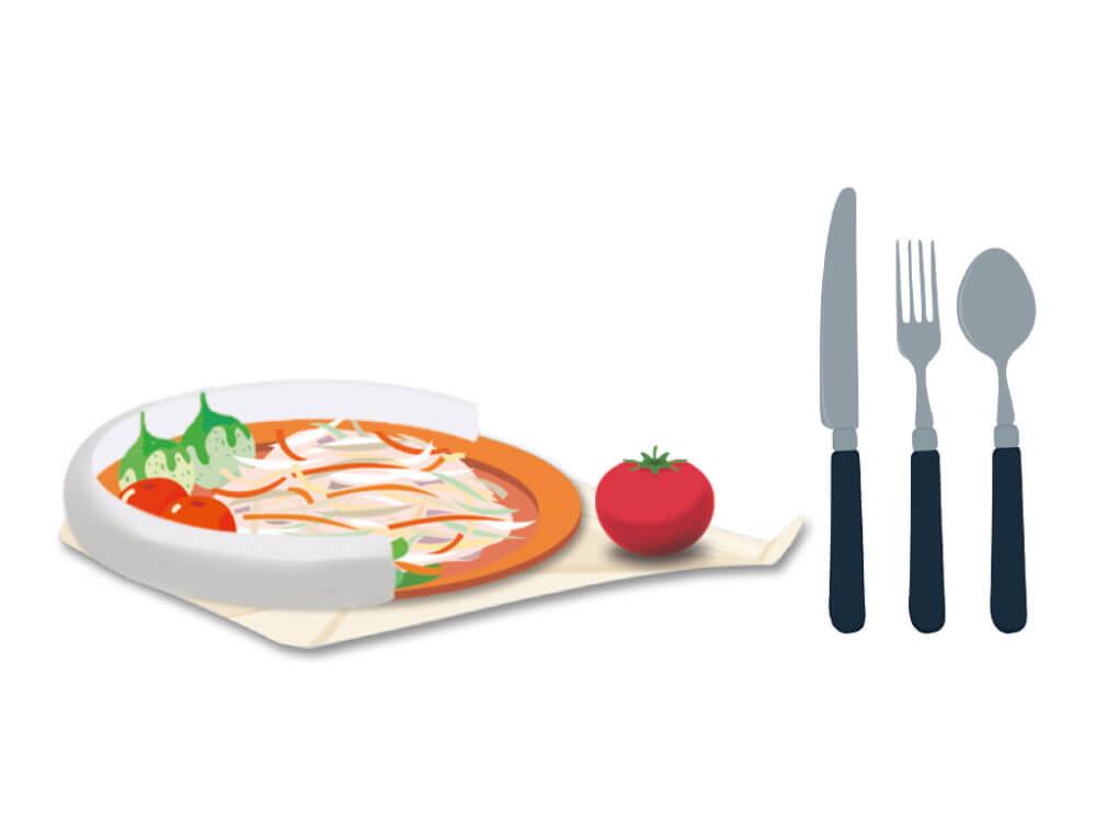 Hilfreiches rund ums Essen