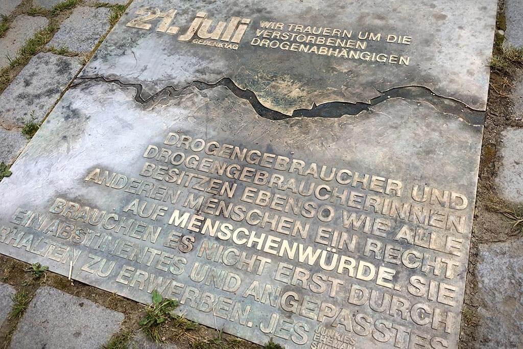 Gedenktafel Frankfurt am Main - Taunusanlagen