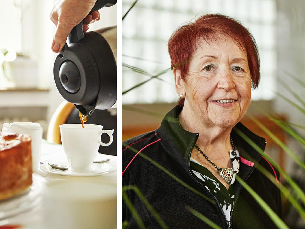Erika Ilg aus Senden bei Ulm geht bewusst auf die Menschen zu und genießt ihr Leben