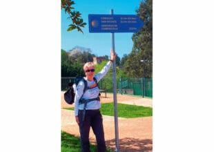 Vier intensive Wochen und 560 Kilometer Jakobsweg liegen hinter Stephanie Heinze (49) und ihrer Freundin Eva-Maria Wolf.