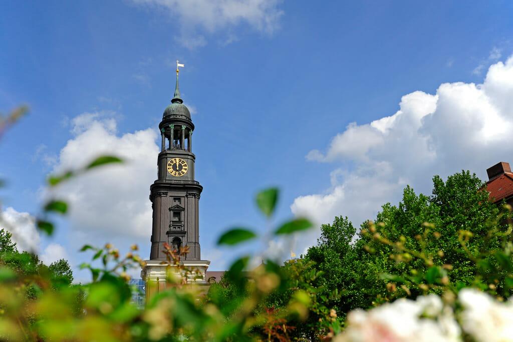 Abbildung der Hauptkirche Sankt Michaelis in Hamburg