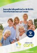 Titel der Broschüre Juvenile idiopathische Arthritis (JIA) - Was Eltern wissen sollten