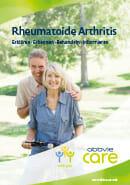 Titel der Broschüre Rheumatoide Arthritis