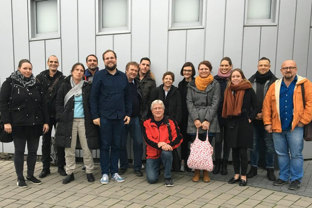 Das Gremium der Suchtexperten beim Treffen in Wiesbaden