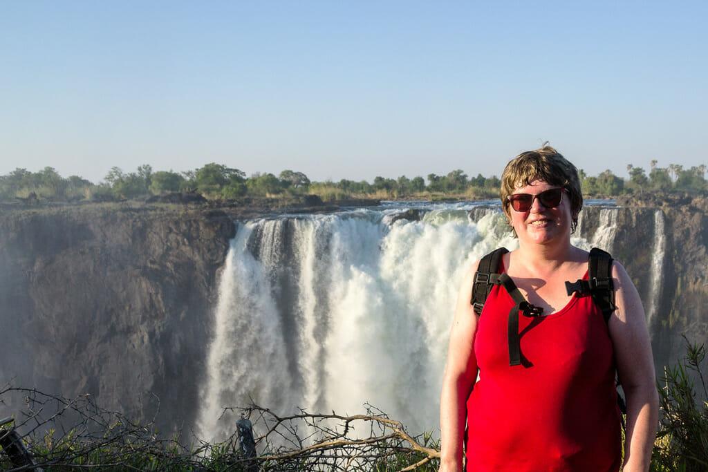 Michaela in Afrika