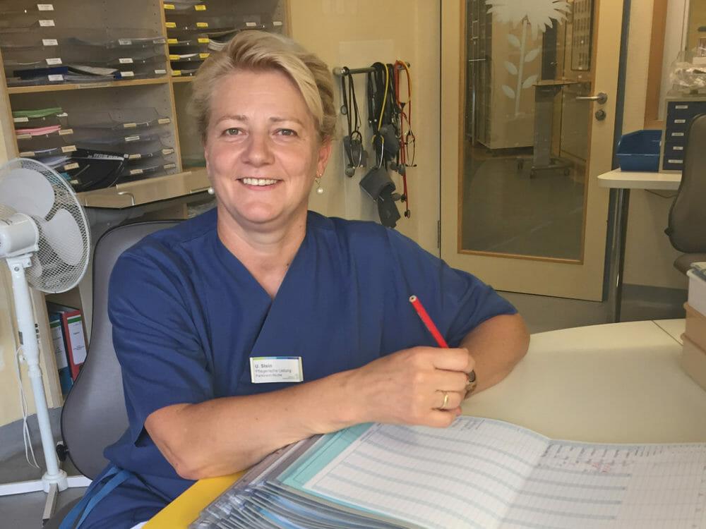 Parkinson Nurses, immer noch Pionierarbeit