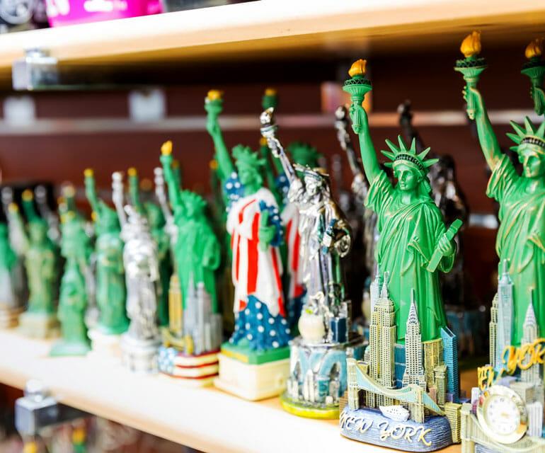 Figuren der Freiheitsstatue
