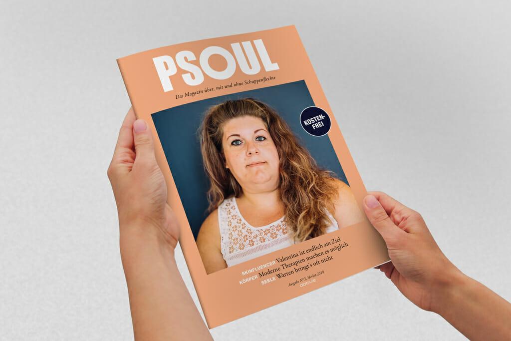 Die dritte Ausgabe des PSOUL Magazins