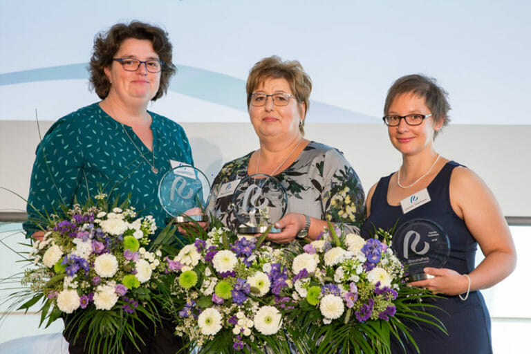 Die Gewinnerinnen des Rheumapreises 2019