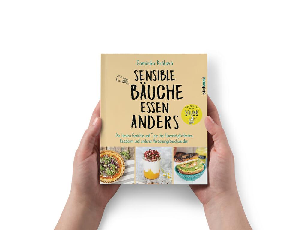 Buchcover Sensible Bäuche essen anders