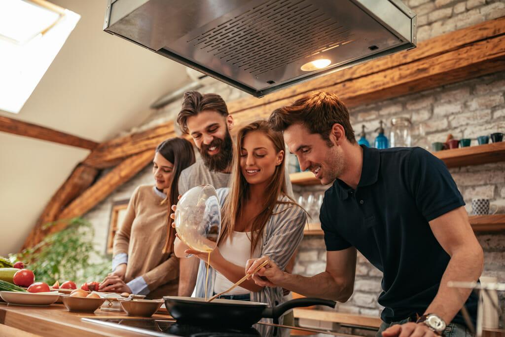 Spaß beim Kochen mit Colitic ulcerosa