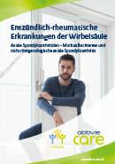 Titel der Broschüre Axiale Spondyloarthritiden