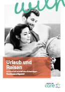 Titel der Broschüre Urlaub und Reisen