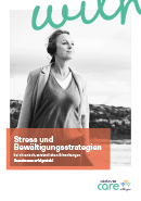 Titel der Broschüre Stress und Bewältigungsstrategien