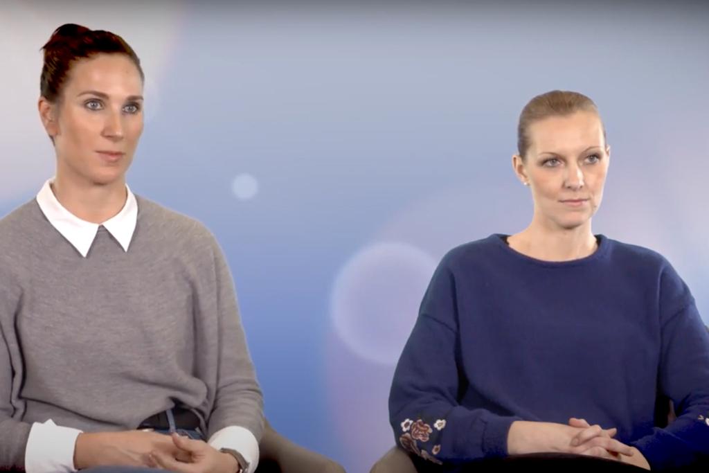 Eva und Julia im Video