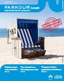 Titel der Broschüre PARKOUR das Parkinson-Magazin kompakt Sonderausgabe
