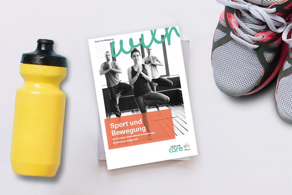 Die neue AbbVie Care Sportbroschüre