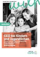 Titel der Broschüre CED bei Kindern und Jugendlichen