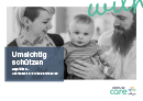 Titel der Broschüre Umsichtig schützen – Hepatitis C – Ansteckung und Wiederansteckung
