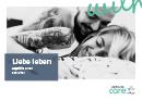 Titel der Broschüre Liebe leben – Hepatitis C und Sexualität