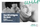 Titel der Broschüre Das Wichtigste für dich – Wissen zu Hepatitis C und Sexualität