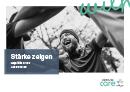 Titel der Broschüre Stärke zeigen – Hepatitis C und Ausgrenzung